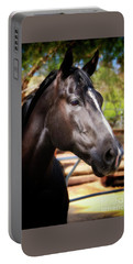 Aqha Foundation Mare Miss Smokin' Blue Jeans Portable Battery Charger