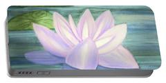 Aqua Bloom Portable Battery Charger