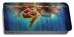 Aquarian Rebirth II Divine Feminine Consciousness Awakening Portable Battery Charger