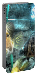 Aquarium Portable Battery Charger by Yury Bashkin