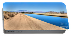 Aqueduct And The Tehachapi Mountains Portable Battery Charger