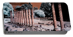 Portable Battery Charger featuring the photograph Aquileia, Roman Forum by Helga Novelli