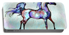 Arabian Horse Overlook Portable Battery Charger