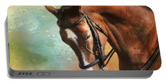 Portable Battery Charger featuring the photograph Arabian Horse by Theresa Tahara