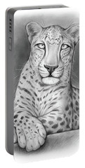 Arabian Leopard Portable Battery Charger