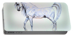 Arabian Stallion  Portable Battery Charger