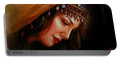Arabian Woman 043b Portable Battery Charger