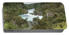 Portable Battery Charger featuring the photograph Aratiatia Rapids by Gary Eason