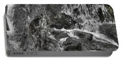Arboretum Waterfall Bw Portable Battery Charger