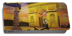 Arc De Triomphe Portable Battery Charger