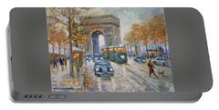 Arc De Triomphe, Paris Portable Battery Charger