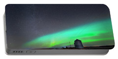 Arc Of The Aurora Portable Battery Charger by Dan Jurak