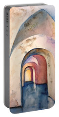 Arch Door Hallway Infinity Portable Battery Charger
