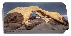 Arch Rock Panorama In Joshua Tree Portable Battery Charger by Joe Belanger