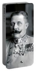 Archduke Franz Ferdinand Of Austria Portrait - 1914 Portable Battery Charger