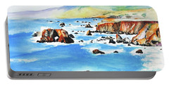 Arched Rock Sonoma Coast California Portable Battery Charger