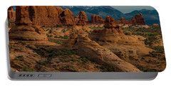 Portable Battery Charger featuring the photograph Arches National Park by Gary Lengyel