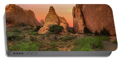 Arches National Park Sunset Portable Battery Charger