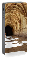 Arches Of Jeronimos Portable Battery Charger by Marion McCristall