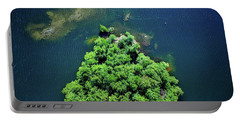 Archipelago Island - Aerial Photography Portable Battery Charger