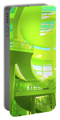 Green Splash Architecture Portable Battery Charger