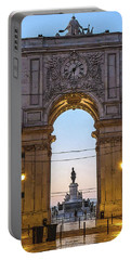 Arco Da Rua Augusta At Sunrise Portable Battery Charger