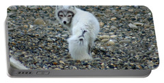 Arctic Fox Portable Battery Charger by Anthony Jones