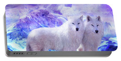 Arctic Wolf Mates Portable Battery Charger