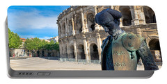 Arenes De Nimes Bullfighter Portable Battery Charger