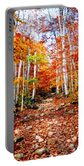 Arethusa Falls Trail Portable Battery Charger by Greg Fortier