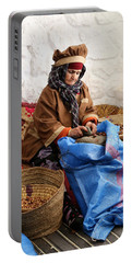 Portable Battery Charger featuring the photograph Argan Oil 3 by Andrew Fare