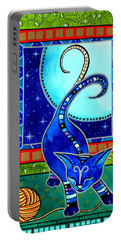 Aries Cat Zodiac Portable Battery Charger