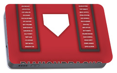 Arizona Diamondbacks Art - Mlb Baseball Wall Print Portable Battery Charger by Damon Gray