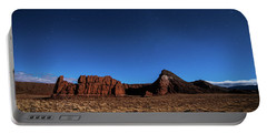 Arizona Landscape At Night Portable Battery Charger