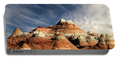 Portable Battery Charger featuring the photograph Arizona North Coyote Buttes by Bob Christopher