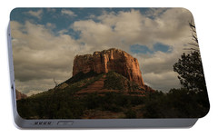 Arizona Red Rocks Sedona 0222 Portable Battery Charger by David Haskett