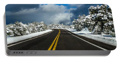 Arizona Snow Road Portable Battery Charger