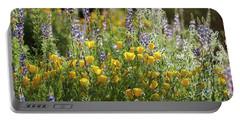 Portable Battery Charger featuring the photograph Arizona Spring Wildflowers  by Saija Lehtonen