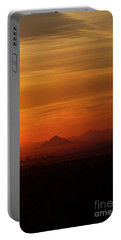 Arizona Sunrise Portable Battery Charger by Anne Rodkin