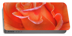 Arizona Territorial Rose Garden - Orange Flame Portable Battery Charger by Kirt Tisdale