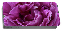 Arizona Territorial Rose Garden - Purple Dance Portable Battery Charger by Kirt Tisdale