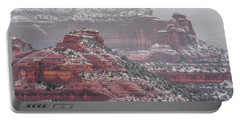 Arizona Winter Portable Battery Charger by Racheal Christian