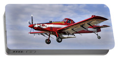 Arkansas Razorbacks Crop Duster Portable Battery Charger