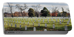 Arlington National Cemetery Landscape Portable Battery Charger
