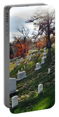 Arlington National Cemetery Portrait Portable Battery Charger
