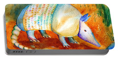 Armadillo Reflections Portable Battery Charger by Carlin Blahnik