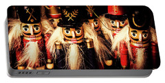 Army Of Wooden Soldiers Portable Battery Charger