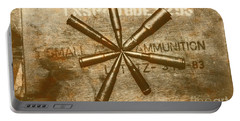 Army Star Bullets Portable Battery Charger