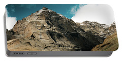 Portable Battery Charger featuring the photograph Around Holy Kailas Himalayas Tibet Yantra.lv by Raimond Klavins