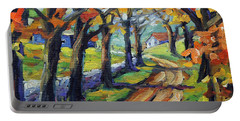 Around The Bend By Prankearts Portable Battery Charger